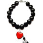MM JW 1 Vetro di Murano Heart & Butterfly Wing Necklace 1