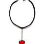 MM JW 2 Vetro di Murano Heart on a Chain Choker 1