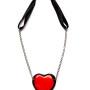 MM JW 3 Vetro di Murano Heart Necklace 1