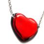 MM JW 3 Vetro di Murano Heart Necklace 3